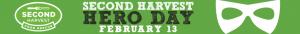Second Harvest Hero Day logo