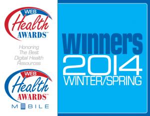 Web Health Awards logos