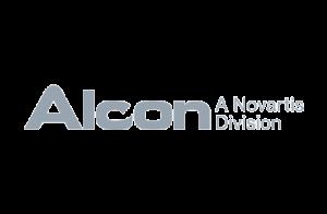Alcon: A Novartis Division Logo