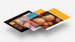 A series of screen views from the Tumor 3D Explorer, developed for Novartis.