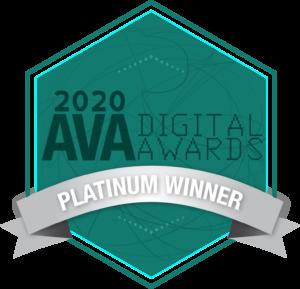 AVA Platinum Award badge