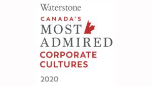Canada's Most Admired Corporate Culture logo.